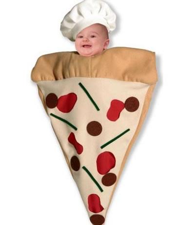 Déguisement bébé Pizza