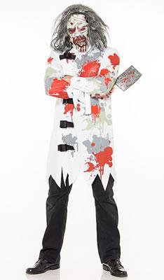 Asda : déguisement de personne déficiente mentale et camisole de force