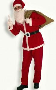 Déguisement Père Noel économique