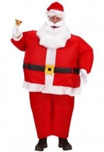 Déguisement Père Noel Gonflable